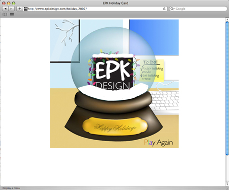 EPK Design Holiday Movie